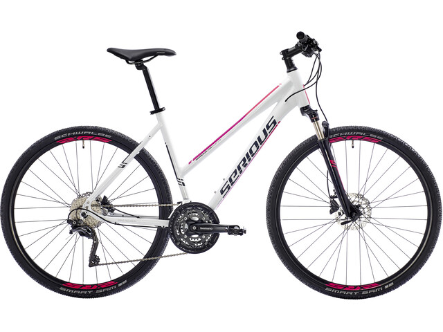 Serious Tenaya Hybridcykel hvid | City-cykler